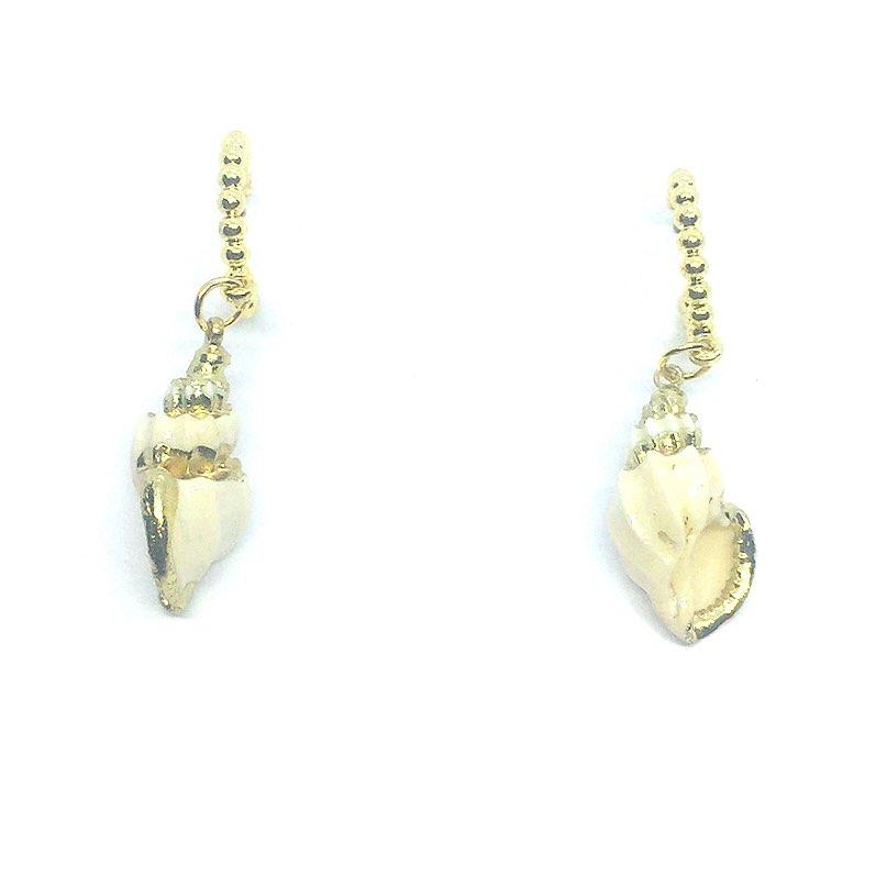 Beach Shell Design  Earrings Temperament Shell Conch  Earrings Female 02 - Simpal Boutique
