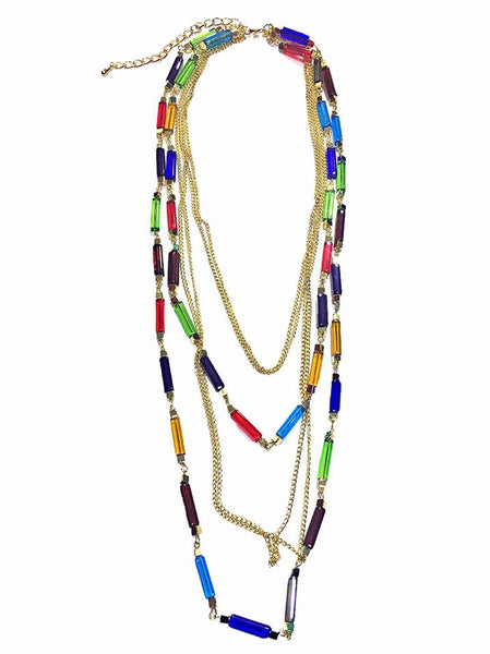 Fashion Long Beaded Party and Evening Necklace - Simpal Boutique
