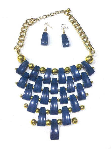 Necklace+Earring Set Accesories Alloy Beads Set Office wear Accessories - Simpal Boutique