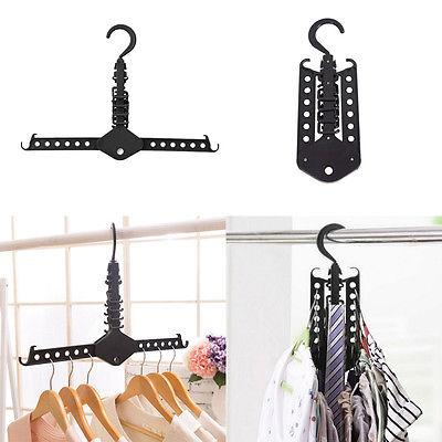 Hanger Rack Clothes Space Saver Folding Hanger Multifunctional Magic Clothes Rack for Clothes Closet Organizer Minimalist style - Simpal Boutique