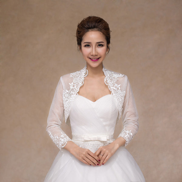 [In Store] Lace bridal jacket - Simpal Boutique