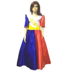 Mestiza Filipiniana Dress Flag design - Simpal Boutique