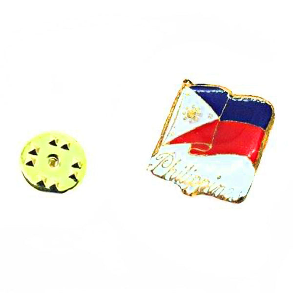 Philippine Country Flag Lapel Pin Enamel Made of Metal Souvenir  Patriotic (Waving Flag Lapel Pin) - Simpal Boutique