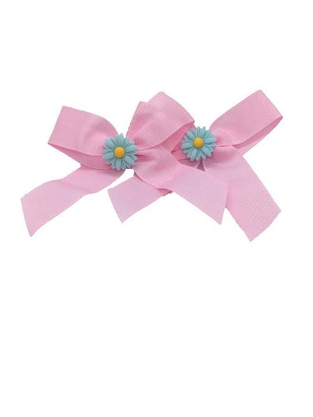 Hair Bows Girls Baby Toddler Alligator Clips Ponytails Grosgrain Ribbon Hair Accessories - Simpal Boutique