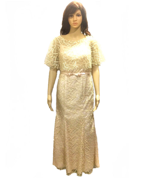 Full Lace Filipiniana Gown - Simpal Boutique