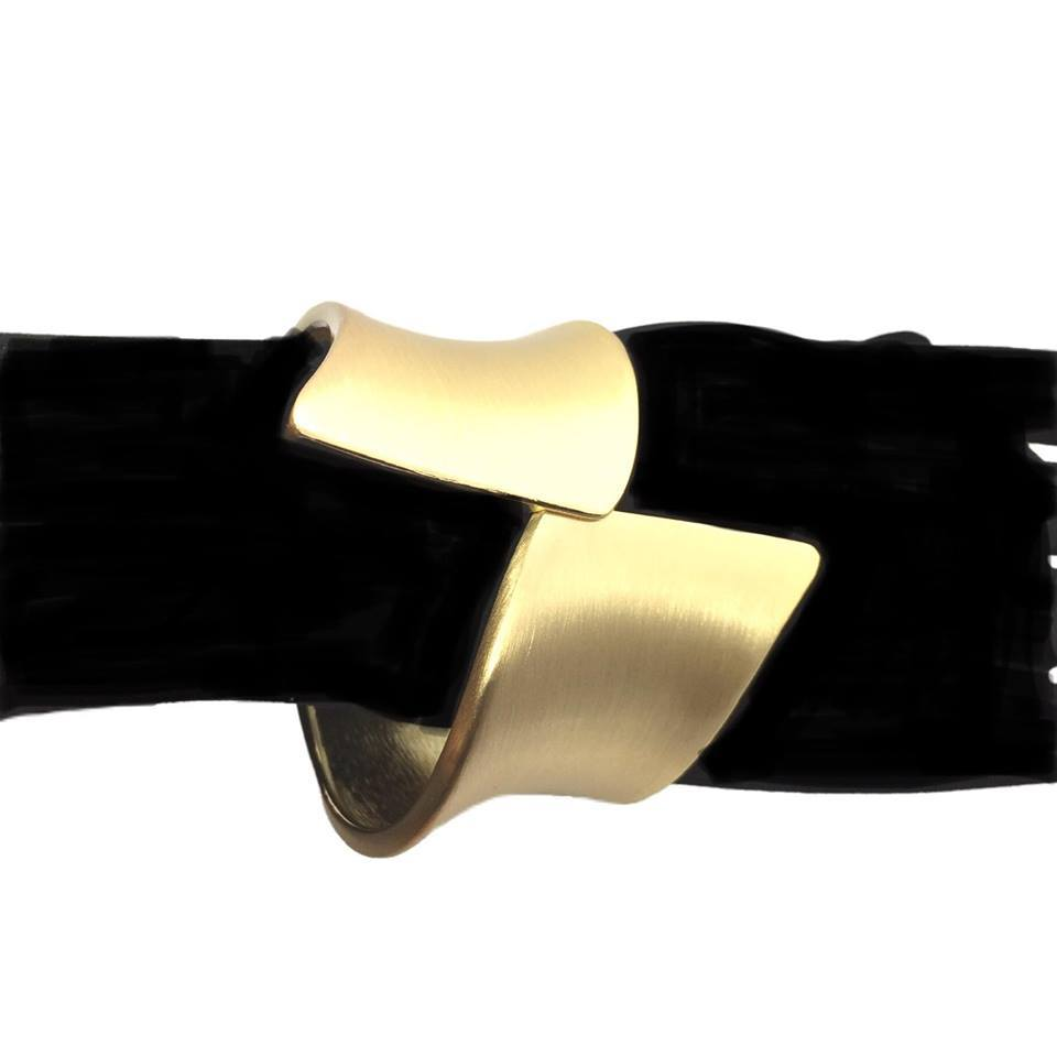 Stainless Steel Bangle Gold plated Bracelet Accessories for ladies 02 - Simpal Boutique