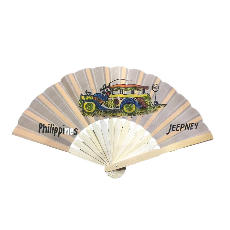 Hand painted Fan Philippine Arts and Craft - Simpal Boutique