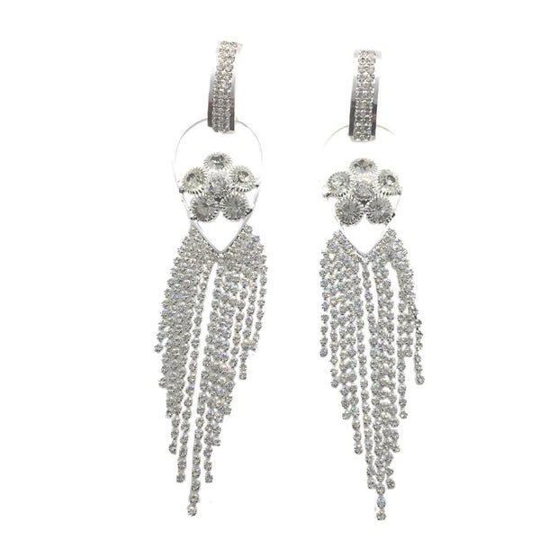 Elegant Earrings Jewelry Rhinestone for Wedding Party Banquet Dating - Simpal Boutique