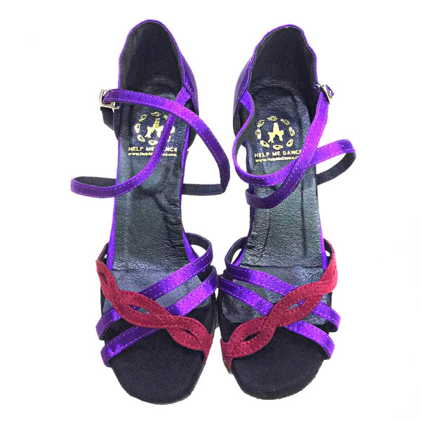 Help Me Dance - Women's Dance Shoes PU Latin Shoes Buckle Sandal / Sneaker Slim High Dancing ShoeLeather Female -KVE-1096184 - Simpal Boutique