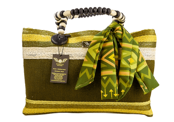 Althea Abaka Bag Eco-friendly bag Green - Simpal Boutique