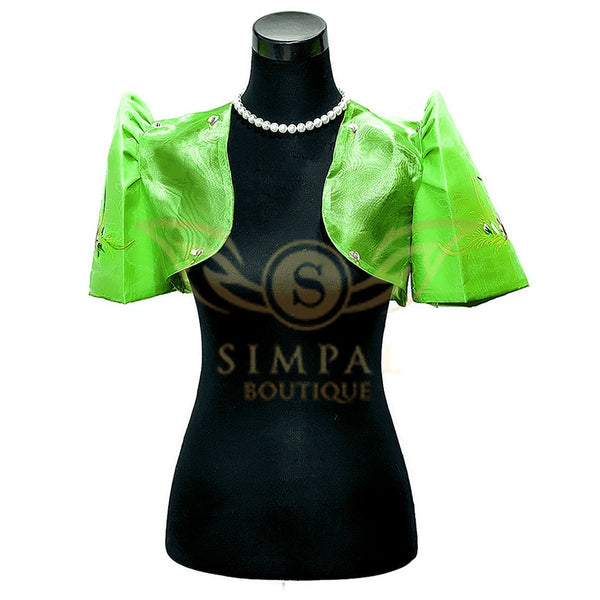 Mestiza Bolero Green -  Filipinana - Adults - Simpal Boutique