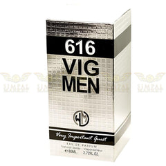 616 VIG MEN Eau De Parfum Spray 80ml (Made in France) - Simpal Boutique