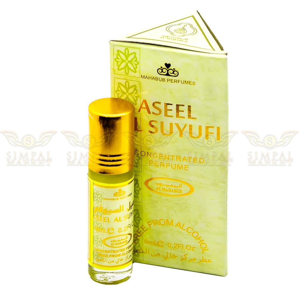 Aseel Al Suyufi Concentrated Alcohol Free Perfume Oil Roll-On 1 Box of 6ml - Simpal Boutique