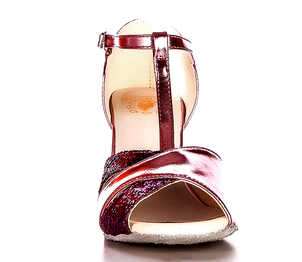 Help Me Dance - Dancing Shoe Latin Salsa Dance Shoes Leather Female - KVE-1080084 - Simpal Boutique