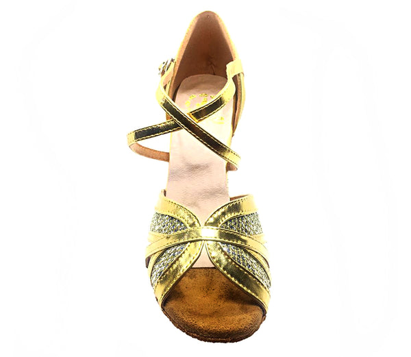 Help Me Dance - Dancing Shoe Latin Salsa Leather Female - KVE-89084 - Simpal Boutique