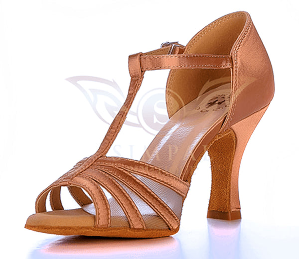 Help Me Dance  Dancing Shoe Latin Salsa Ballroom Dance Shoes Leather Female - KVE-7031184 - Simpal Boutique