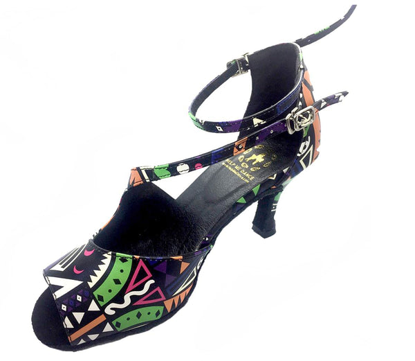 Help Me Dance - Dancing Shoe Salsa Latin Leather Female - KVE-527KVE - Simpal Boutique