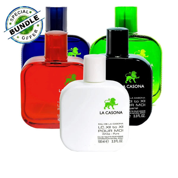 La Casona Perfume Bundle OFFER (Made in France) | Eau de Toilette | 100 ML - Simpal Boutique