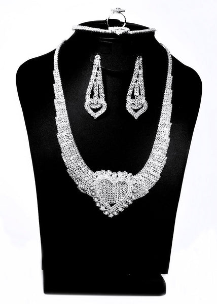Quality Best Fashion Accessories-Jewelry Set Necklace/Earring/Bracelet/Ring for Wedding/Party/Prom 05 - Simpal Boutique