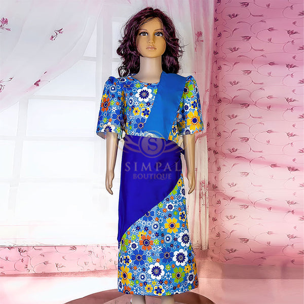 Mestiza for kids - Blue Flower - Simpal Boutique