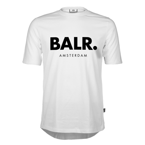 Image of BALR T-SHIRT AMSTERDAM WHITE