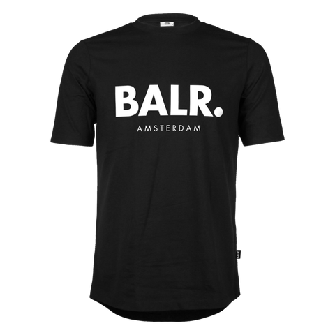 Image of BALR T-SHIRT AMSTERDAM BLACK