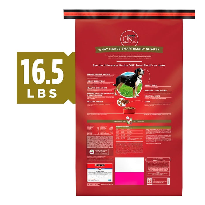 Purina ONE SmartBlend Lamb & Rice Dry Dog Food