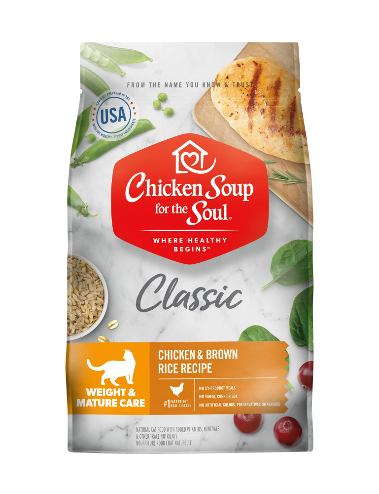 Chicken Soup For The Soul Weight & Mature Care Dry Cat Food