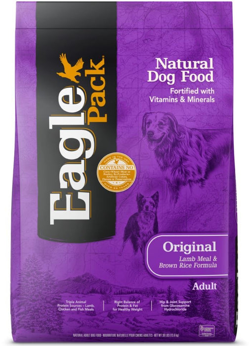 Eagle Pack Natural Lamb Meal and Brown Rice Formula Dry Dog Food