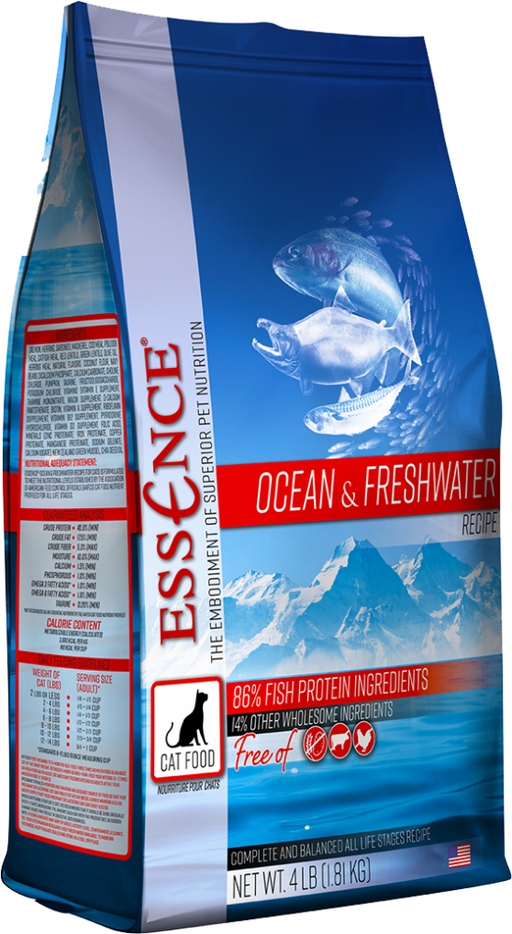 Essence Grain Ocean & Freshwater Recipe Dry Cat Food