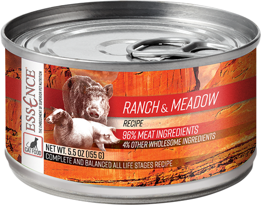 Essence Grain Ranch & Meadow Recipe Canned Cat Food