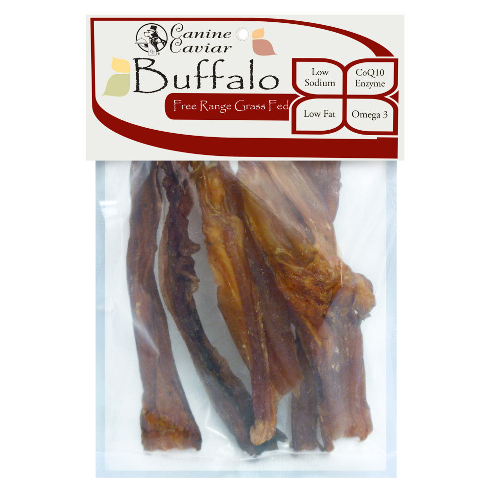 Canine Caviar Buffalo Tendon Dog Treats