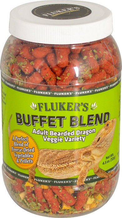Fluker's Adult Bearded Dragon Veggie Variety Food