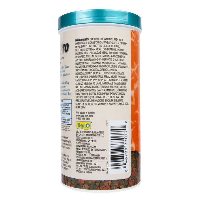 Tetra TetraPro Goldfish Crisps Fish Food