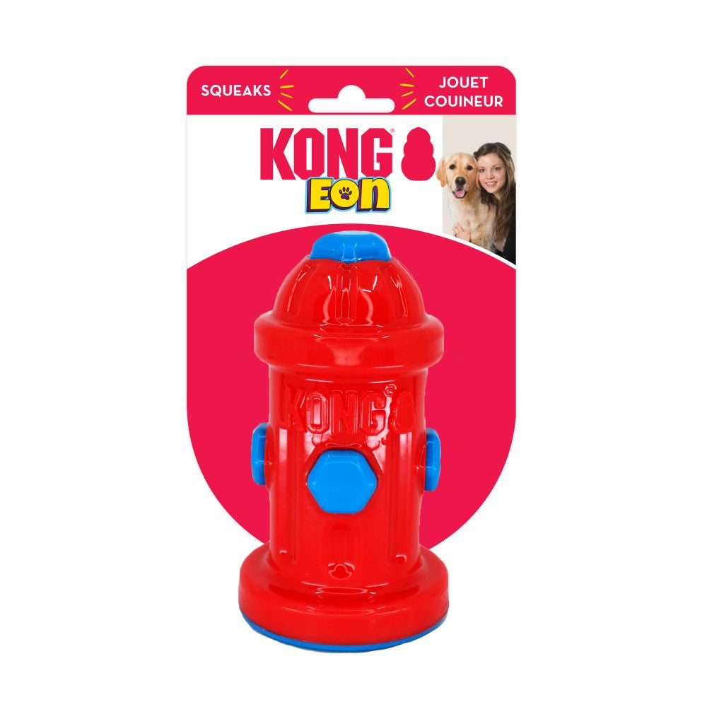 KONG Eon Fire Hydrant Chew Toy for Dogs