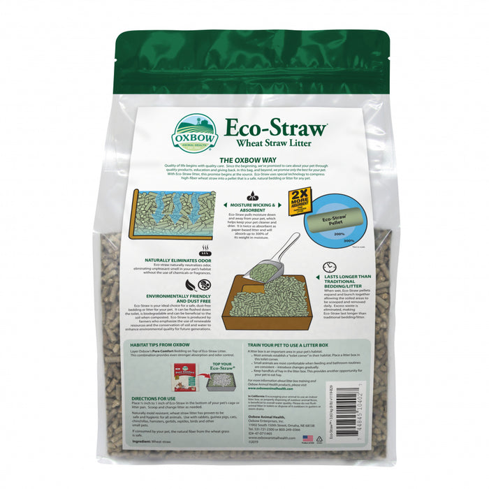 Oxbow Animal Health EcoStraw Litter