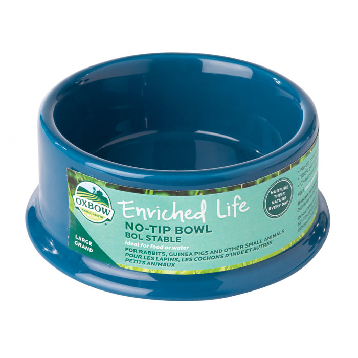 Oxbow Animal Health Enriched Life No Tip Bowl