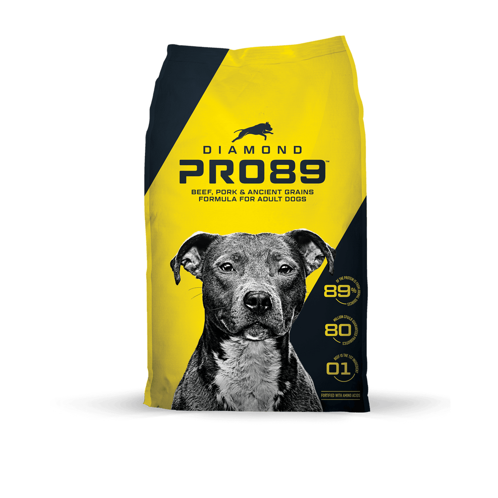 Diamond PRO 89 Beef, Pork and Ancient Grains Formula For Dogs