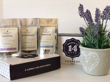 Load image into Gallery viewer,  Lavender Angustifolia blends kit a natural anxiety and stress relief and a self-care regimen