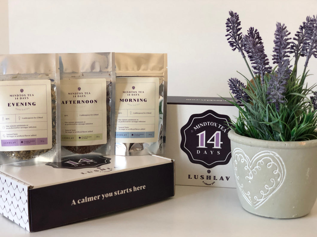 Lavender Angustifolia blends kit a natural anxiety and stress relief and a self-care regimen