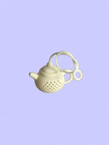 Silicon tea pot steeper