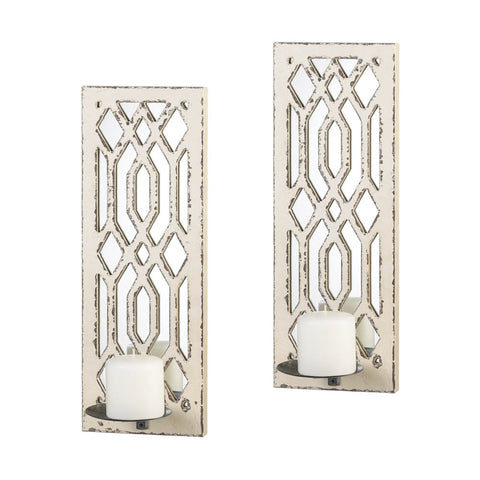 Mirror Wall Sconce Set - One of A Kind Decor