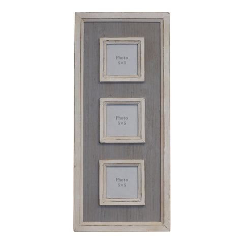 Triple Photo Frame - One of A Kind Decor