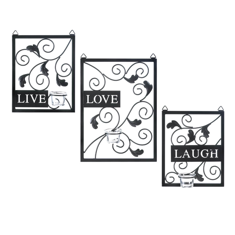 Live Love Laugh Wall Decor One Of A Kind Decor