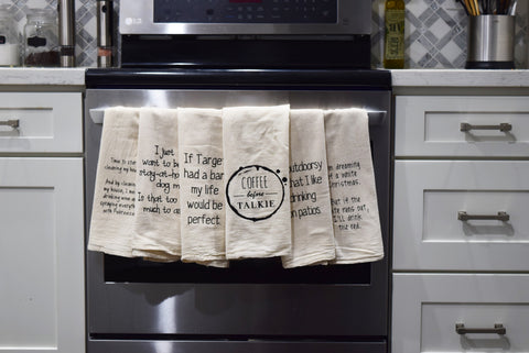 Kitchen Hanging Towels - One of A Kind Decor