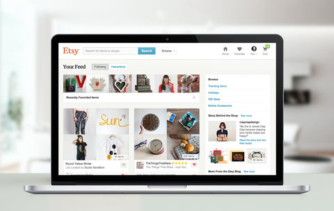 10 Tips for Starting out on Etsy