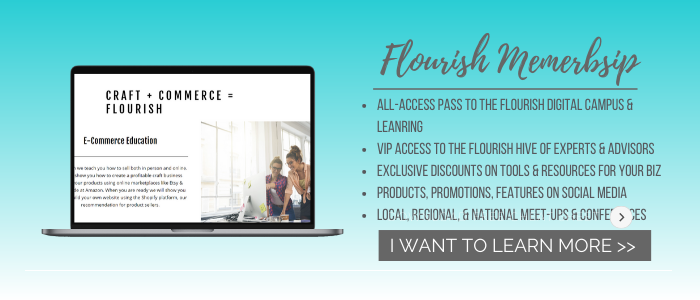 Join Flourish Craft and Commerce Community