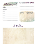 Make & Plan Digital Day Planner:  - Holiday Sale!