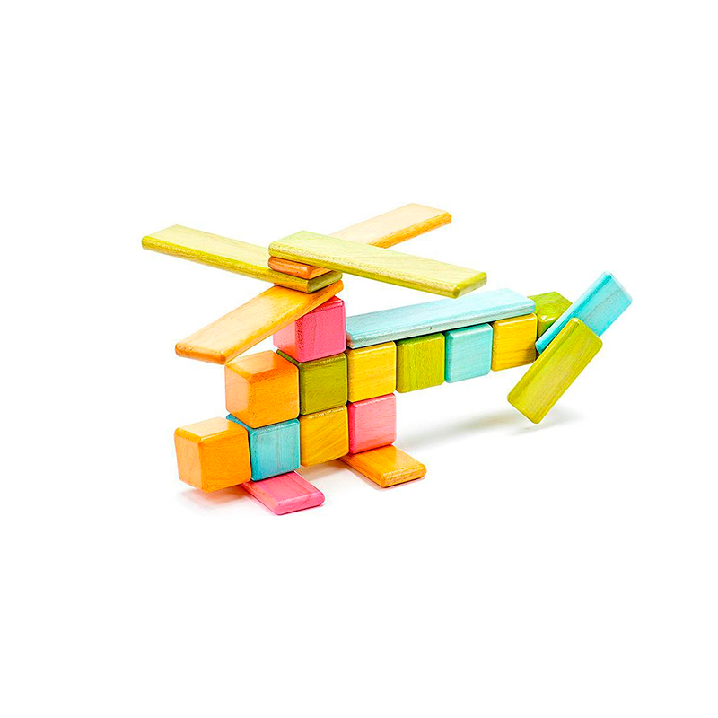 Original Set <br>Magnetic Wooden Blocks <br>52 pieces