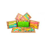 240-Piece Classroom Kit <br>Magnetic Wooden Blocks <br>Bulk Pack